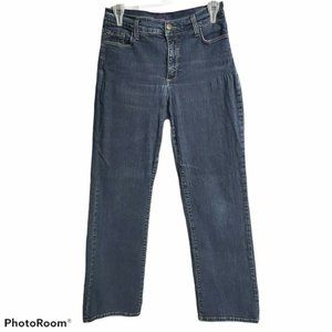 NYDJ Not Your Daughter's Cotton Dark Wash Size 8P